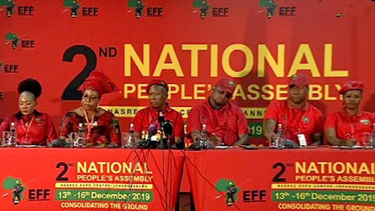 SABC News New EFF Top 6 - I'm not a dictator, I'm a hard worker: Malema