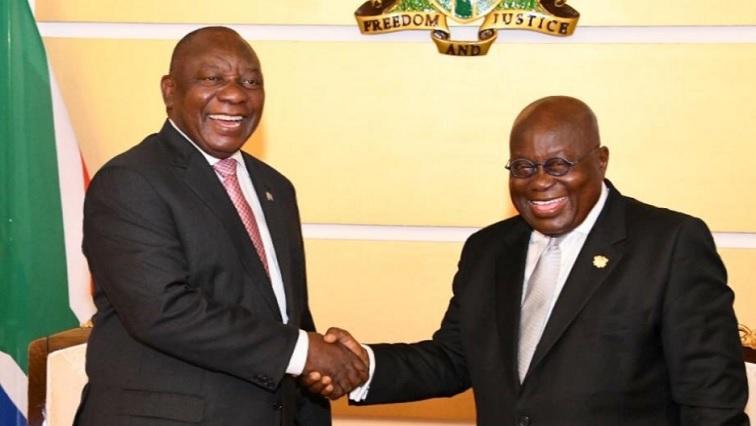 SABC News Ramaphosa.jpg Twitter@PresidencyZA - SA aims to deepen economic dealings with Ghana