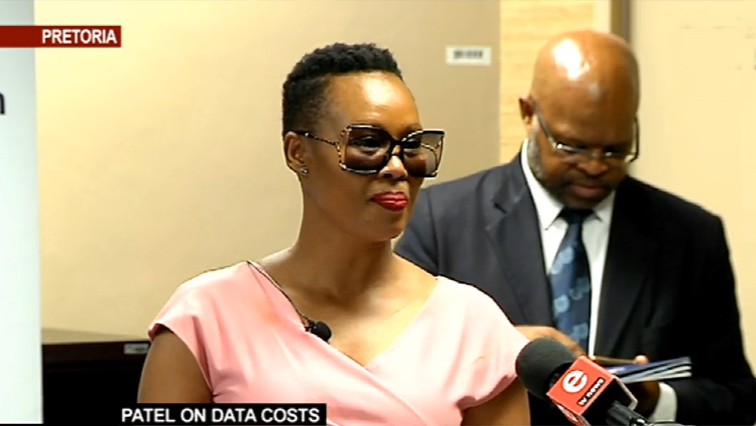 SABC News Stella P - Minister Ndabeni-Abrahams welcomes fall in data prices