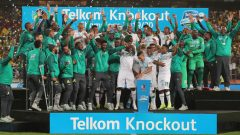 Mamelodi Sundowns are the kings of the 2019 Telkom Knockout after beating Maritzburg United 2- 1.