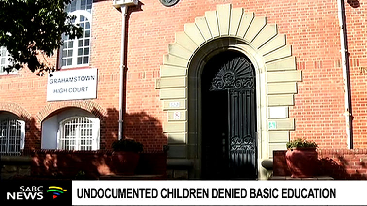 The Education Department was also interdicted from excluding children from schools in any manner, including illegal foreign children.
