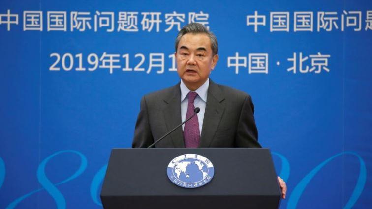 SABC News Wang Yi Reuters - China top diplomat says China-U.S. trade deal good news for all