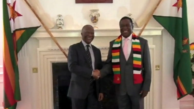 Thabo Mbeki and Mnangagwa
