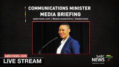 Minister Stella Ndabeni-Abrahams
