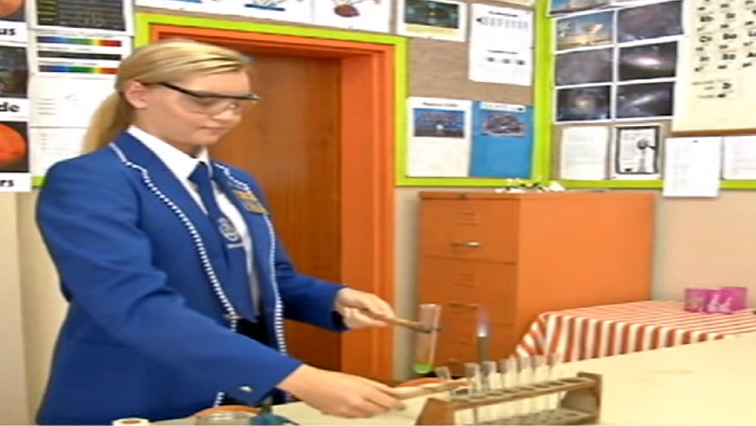 Hoërskool Douglas learner Miné Steenkamp