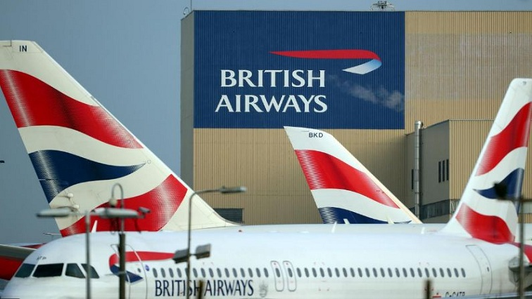 SABC News BAReuters - British Airways suspends direct flights to mainland China