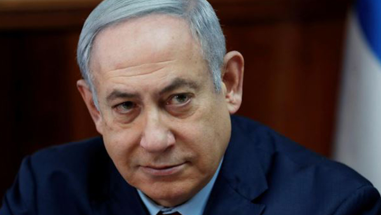 IsraelI Prime Minister Benjamin Netanyahu attends the weekly cabinet meeting in Jerusalem.