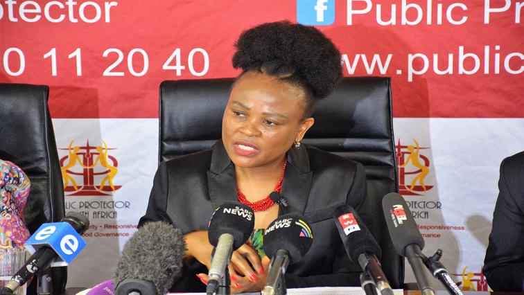 SABC News Busisiwe Mkhwebane Twitter @PublicProtector - Mkhwebane has poor understanding of the law: DA
