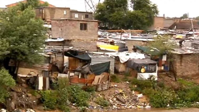 The community of Eerste Fabriek squatter camp had their belongings swept away and have been staying at the Mamelodi Baptist Church.