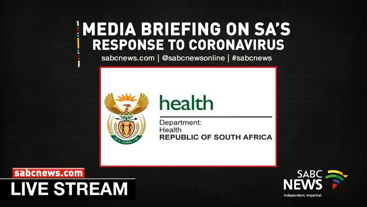 SABC News Health LIVESTREAM - WATCH | Health Minister briefs media on SA measures to tackle coronovirus outbreak