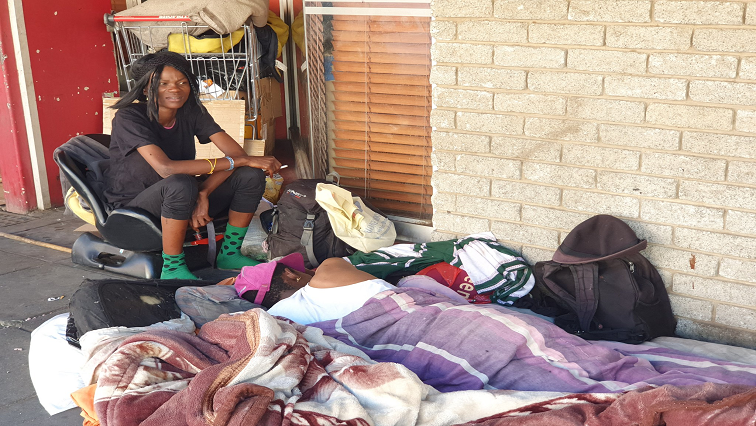 SABC News Homeless Twitter @UlrichHendriks - Homeless people dream of a better life in the new decade