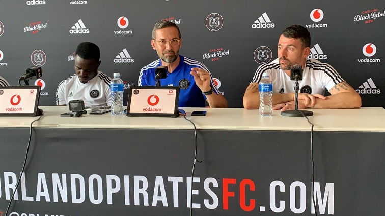 SABC News Josef Zinnbauer SABCIH - How Zinnbauer ended up at Pirates, his view on Klopp