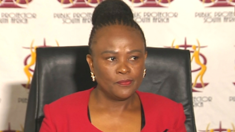 SABC News Mkhwebane P 1 - EFF won't support Mkhwebane's removal through parliamentary process