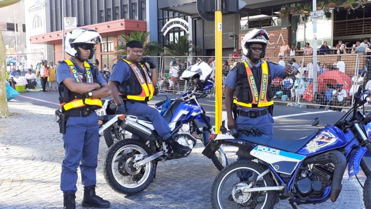 Member of #SAPS & other law enforcement agencies are deployed at the Cape Town Street Parade.