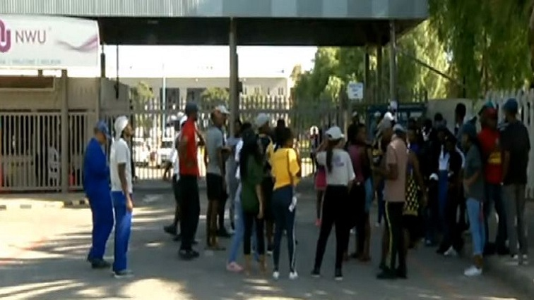SABC News UWN 1 - Situation calmer at NWU Mahikeng campus