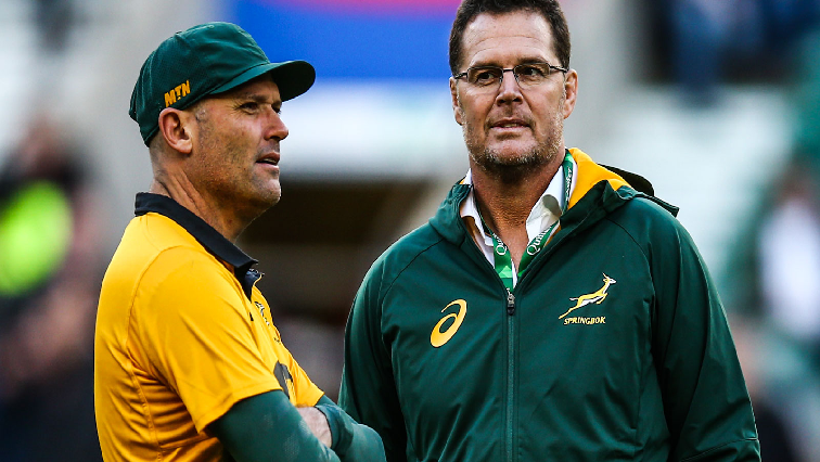 Jacques Nienaber and Rassie Erasmus