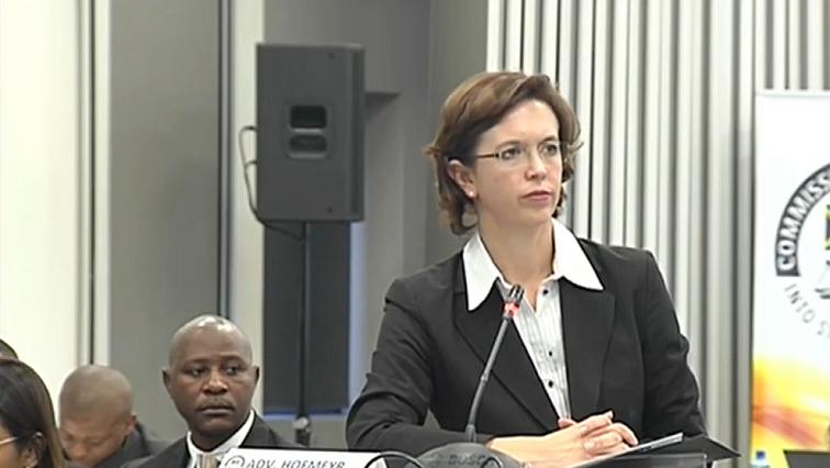 SABC News Adv. Kate Hofmeyr - State Capture Commission to hear Denel related testimony on Monday