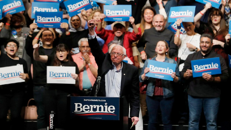 SABC News Bernie Sanders R 1 - Broad-based support powers Sanders to big win in Nevada Democratic vote