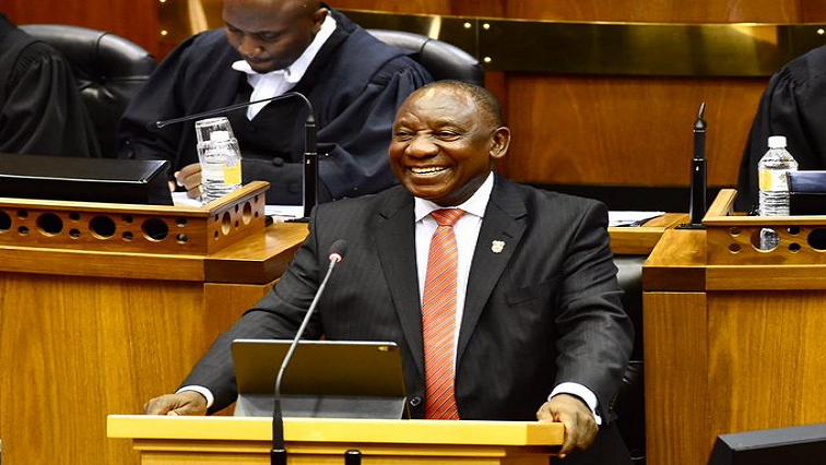 SABC News Cyril Ramaphosa Twitter @tito mboweni - Mixed reactions to Ramaphosa's SONA speech