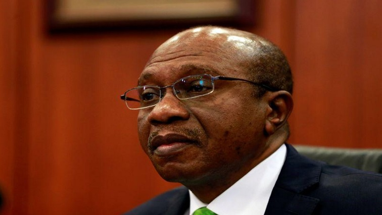 SABC News Godwin Emefiele R - Nigeria offers longer-term naira contracts to lure investors, shore up FX reserves
