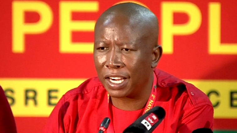 SABC News Julius Malema 2 1 1 - Warrant of arrest issued for Malema