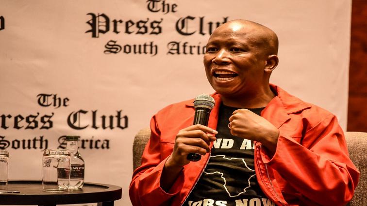 SABC News Julius Malema Twitter @EFFSouthAfrica - EFF criticises municipalities obtaining power independently
