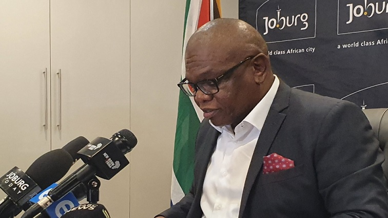 SABC News Makhubo.jpg Twitter@CityofJoburg - Joburg mayor in self-isolation after staff member tests positive for coronavirus