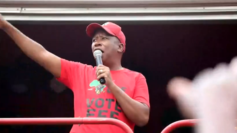 SABC News Malema P - DA to refer Malema to Parliament's Ethics Committee over social media posts