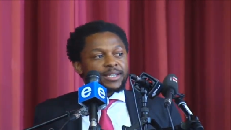 SABC News Mbuyiseni Ndlozi - EFF's Ndlozi highlights struggles faced by learners