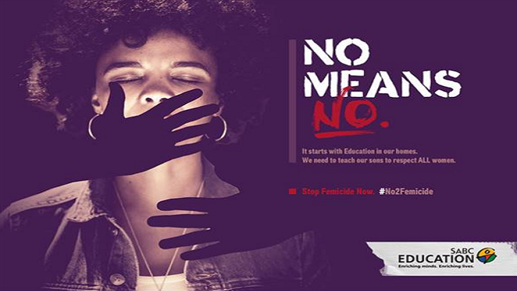 "SABC Education ""No Means No"" campaign"