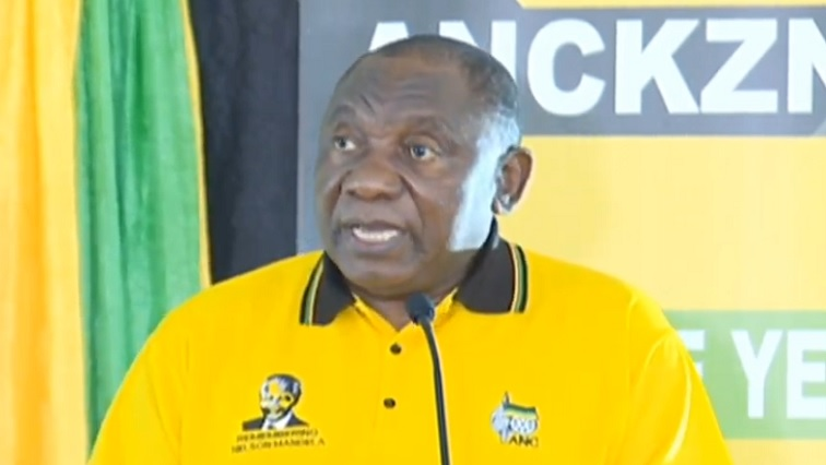 SABC News Ramaphosa 3 - Corruption has caused factions within the ANC: Ramaphosa