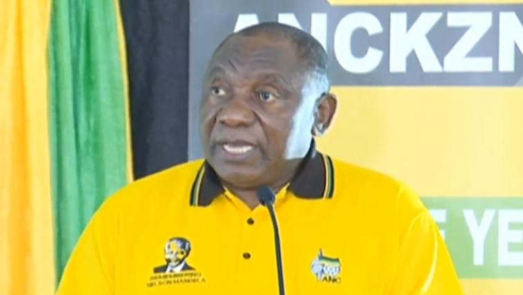 SABC News Ramaphosa 3 - Corruption has caused factions within the ANC: Ramaphosa