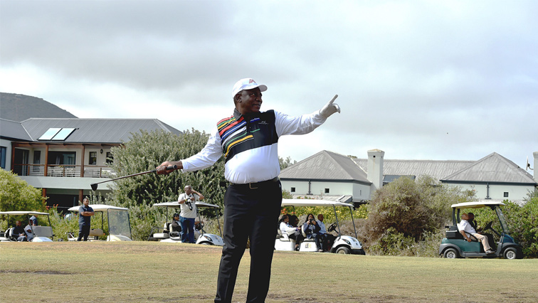 SABC News Ramaphosa Golf GovernmentZAFlickr - Ramaphosa expresses disappointment over EFF's SONA disruptions