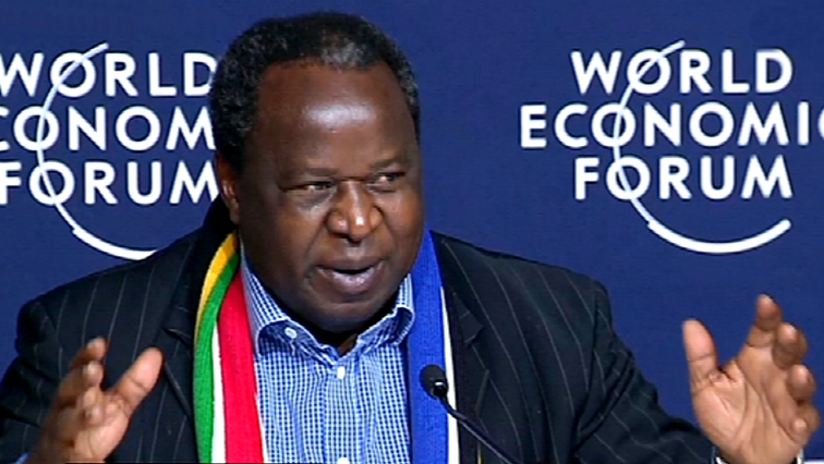 SABC News Tito Mboweni WEF2020 B - Mboweni expected to focus on NHI Bill, cannabis farming during budget vote