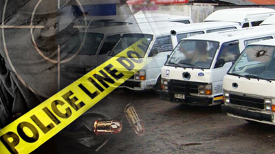 SABC News taxi violence P - Two killed in Joburg taxi violence