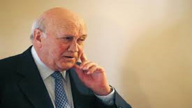 SABC News FW De Klerk Reuters - Nelson Mandela Foundation weighs in on De Klerk matter