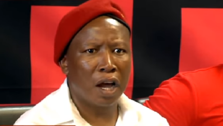 SABC News Julius Malema 2 - Malema back in court for discharging a firearm in public