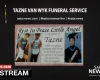 LIVE: Tazne van Wyk's funeral service