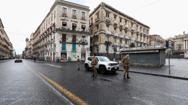 Italy 02 1 - SA becomes the latest country to implement a lockdown