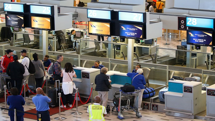 SABC News Airport Reuters - Government called to reconsider new curfew