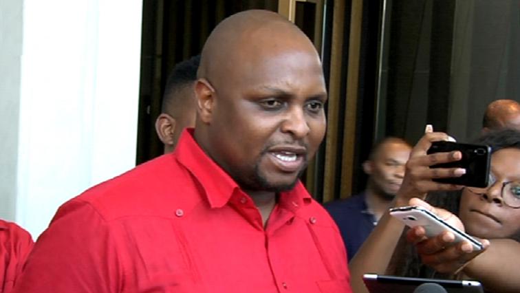 SABC News Floyd Shivambu - EFF's Shivambu to appear in court for assault