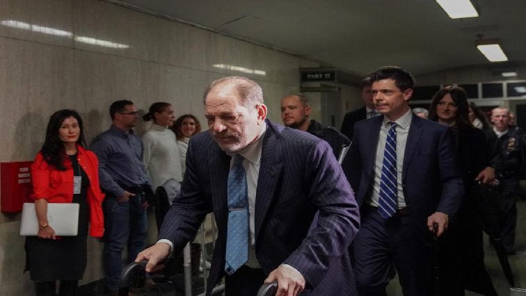SABC News Harvey W R - Harvey Weinstein tests positive for coronavirus in prison: Union official