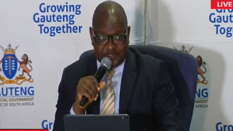 SABC News Makhura 2 - Makhura details Gauteng plans ahead of national lockdown