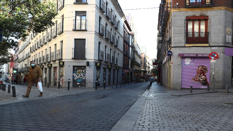 Spain02 - SA becomes the latest country to implement a lockdown