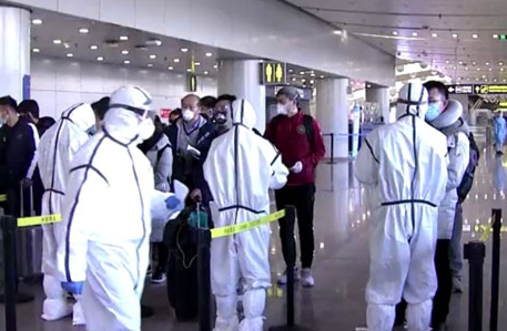 China reports no local virus transmissions as foreigners barred ...