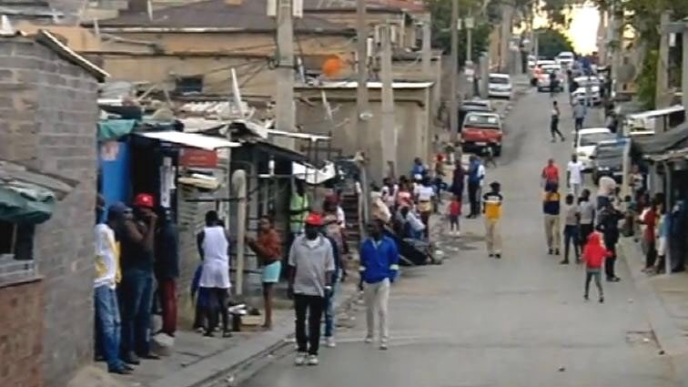 Some South Africans in areas including Alexandra have been defiant to the orders government has given during the national shutdown.