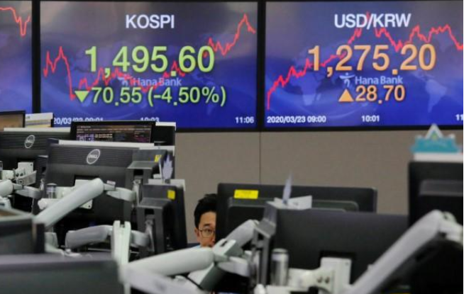 stocks 1 - Stocks crumble as more nations shut for business to curb virus