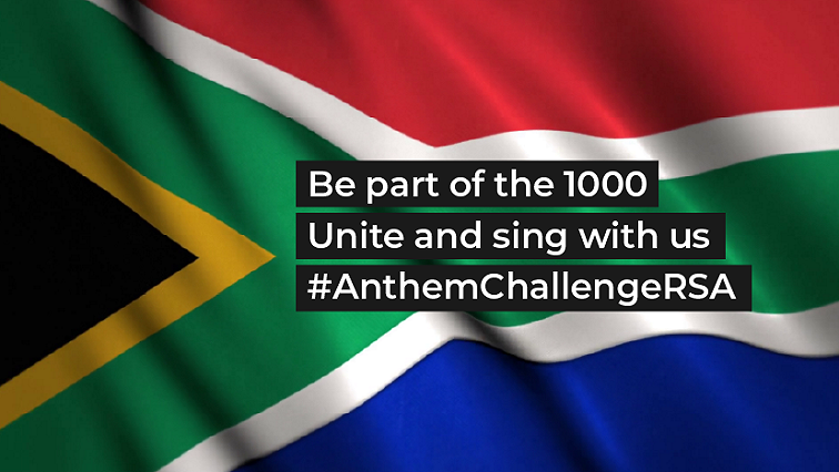 SABC News Anthem Challenge Twitter @AnthemChallenge - SA artists unite under the 'Anthem Challenge RSA' to face the COVID-19 threat