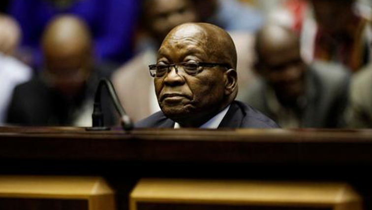 SABC News Jacob Zuma1 R 3 - Zuma says corruption charges against him are prompted by political vengeance