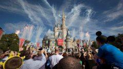 People outside Disney World